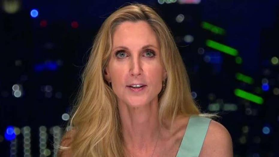 From Mad World News Via Conservative >> Ann Coulter Rips Trump Over Border Wall On Bill Maher S Show After