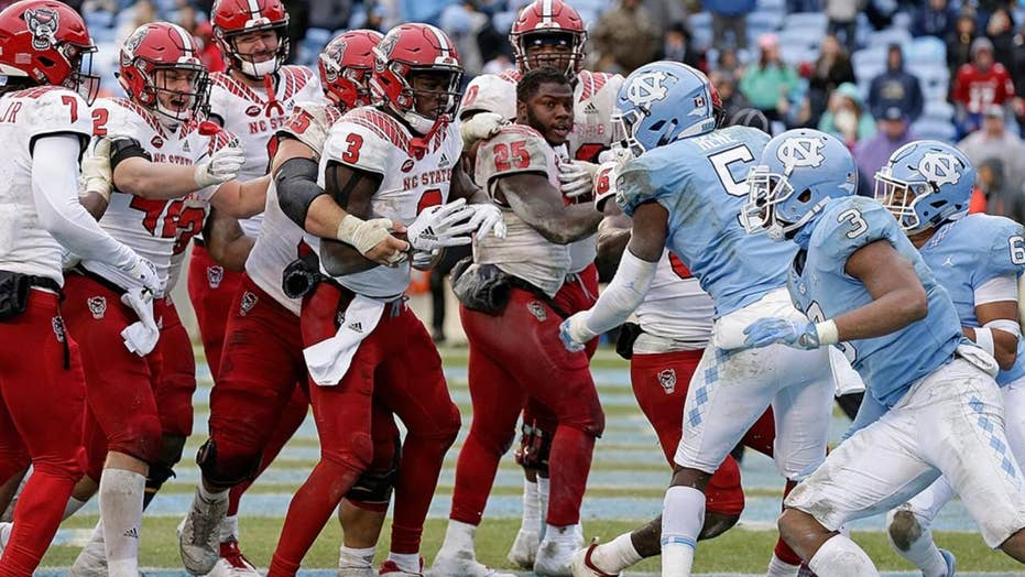 Brawl breaks out between North Carolina, NC State