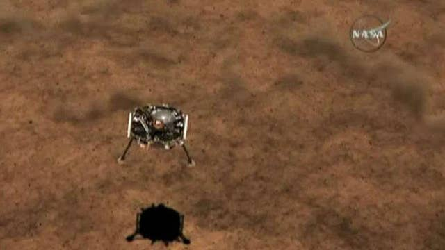 Mars Insight to land on surface tomorrow