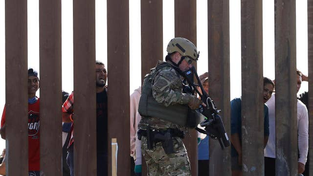 Chaos breaks out at the U.S.-Mexico border
