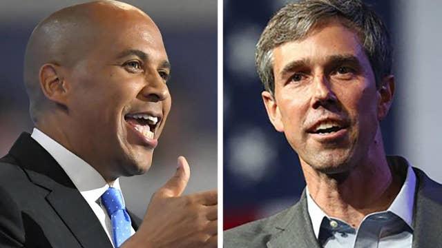 Wavering Dems grab 2020 headlines