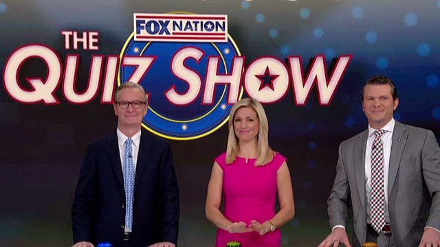 Steve, Ainsley and Pete play Fox Nation's 'The Quiz Show'