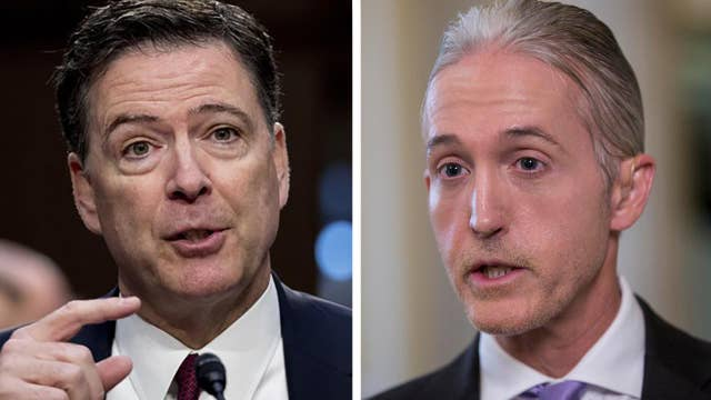 Debate on Capitol Hill over conditions of Comey testimony