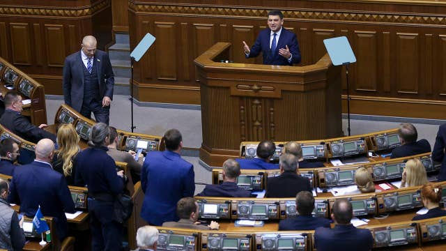 Ukrainian parliament votes to impose 30-day martial law