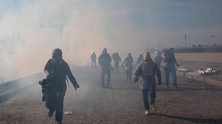 ACLU: Tear-gassing migrants at border is 'inhumane'