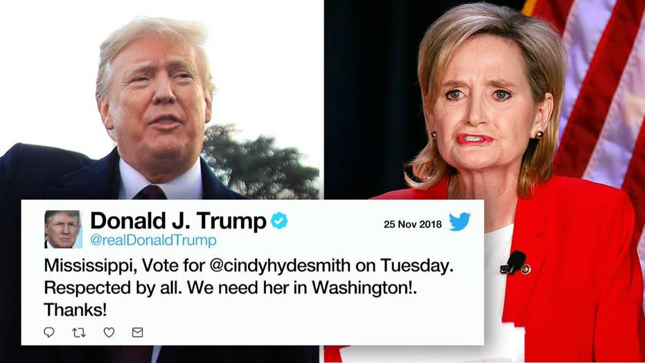 Trump to rally for Hyde-Smith ahead of Senate runoff