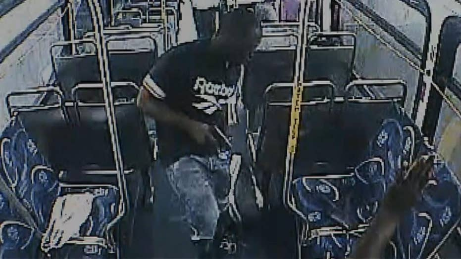 Warning, graphic content: Man shot during altercation on bus