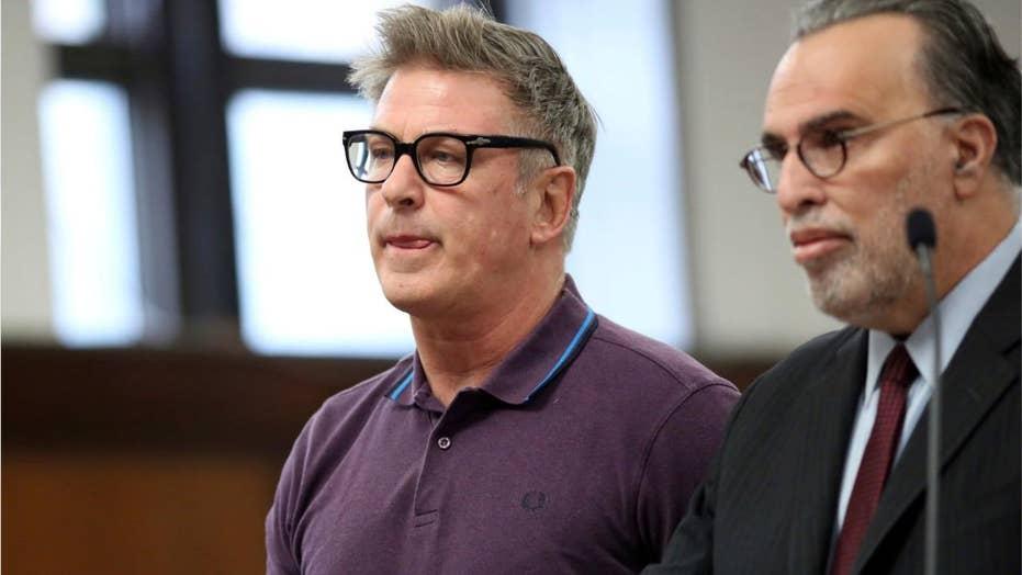 Alec Baldwin arraigned in parking spot punch assault case
