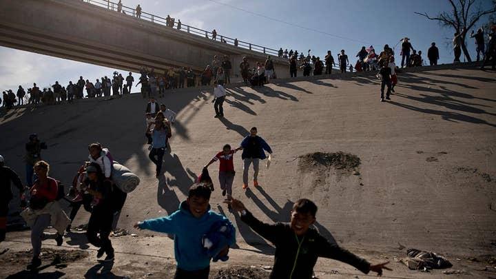 Media downplays migrant caravan crisis