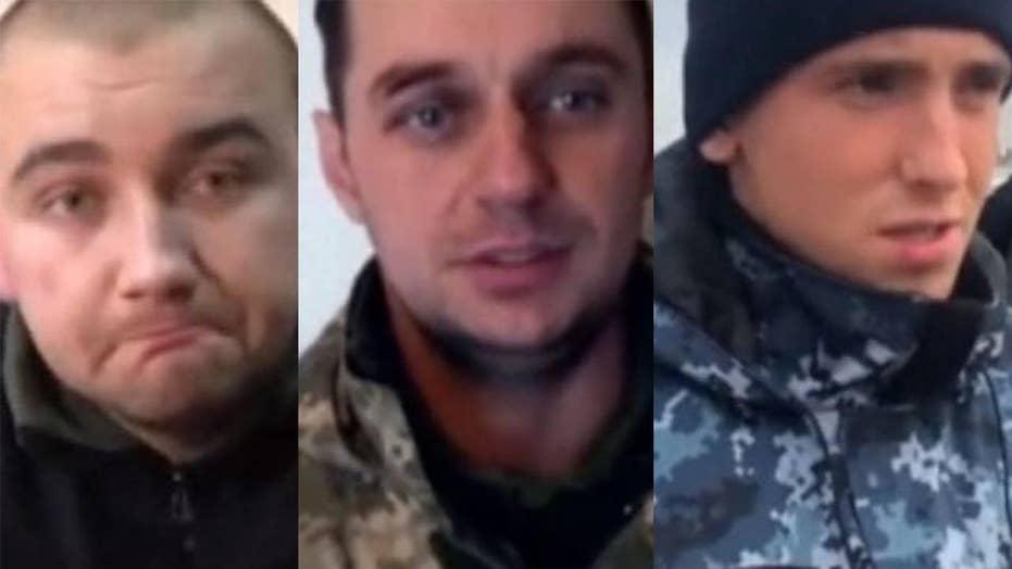 Seized Ukrainian seamen speak on Russian TV
