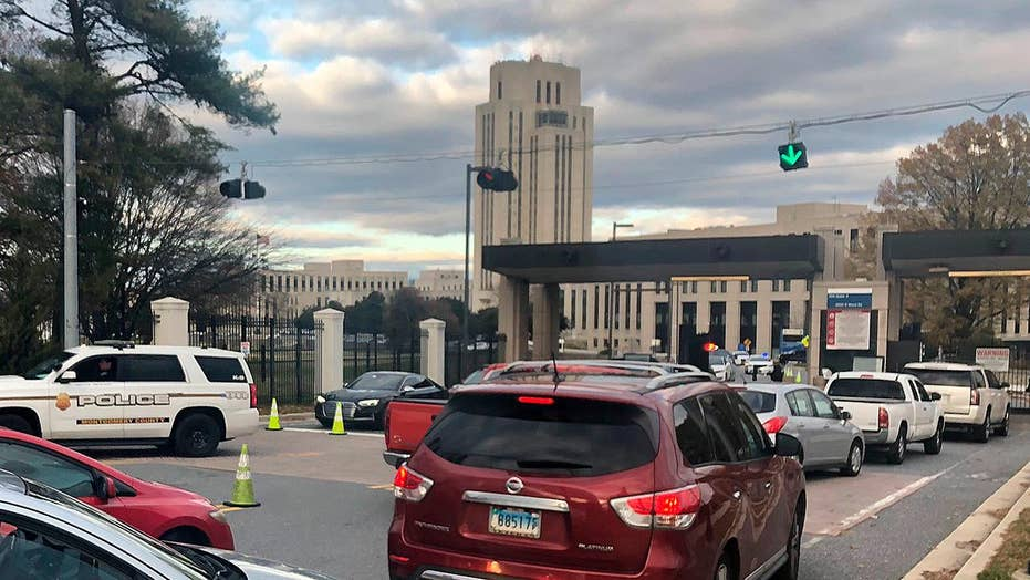 Pentagon: No active shooter at Walter Reed