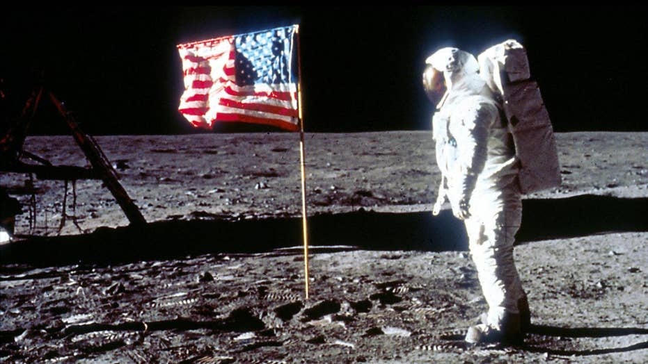 Apollo 11 lunar checklist and moody skeleton offer glance into history