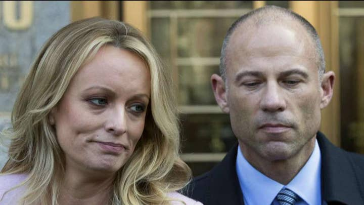 Stormy Daniels claims Avenatti sued Trump without permission