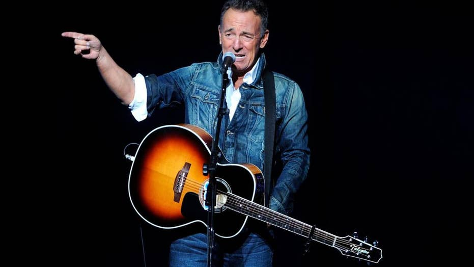 Bruce Springsteen opens up about mental health battles