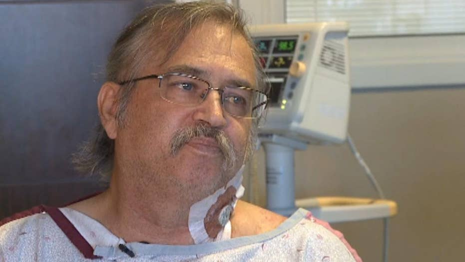 Man credits God with a life-saving transplant