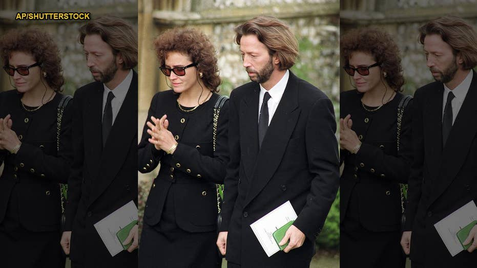 Book claims Eric Clapton was determined to stay sober after son's tragic death