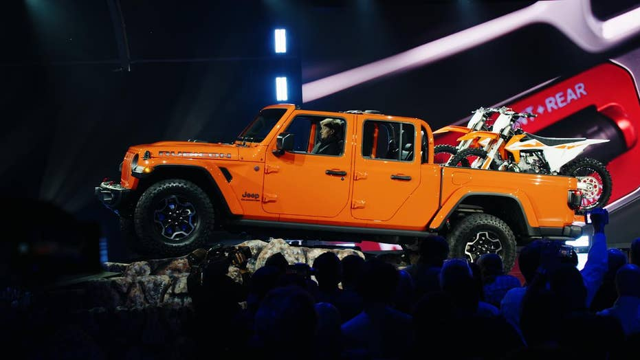 The Jeep Gladiator is prepared for battle