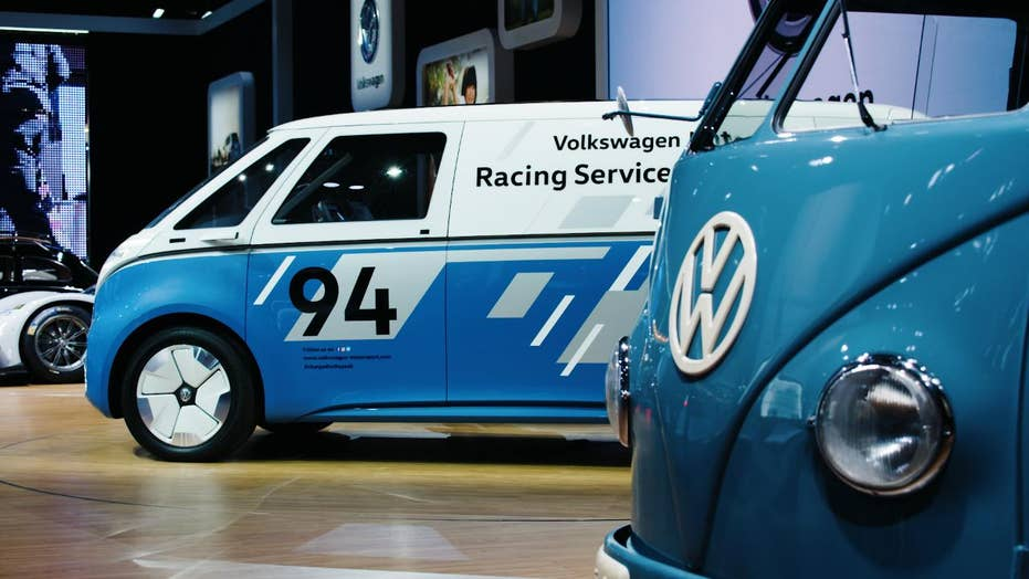 VW's special delivery is retro electric van