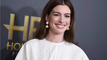 Anne Hathaway recounts embarrassing wardrobe malfunction ahead of 'Late Show' appearance
