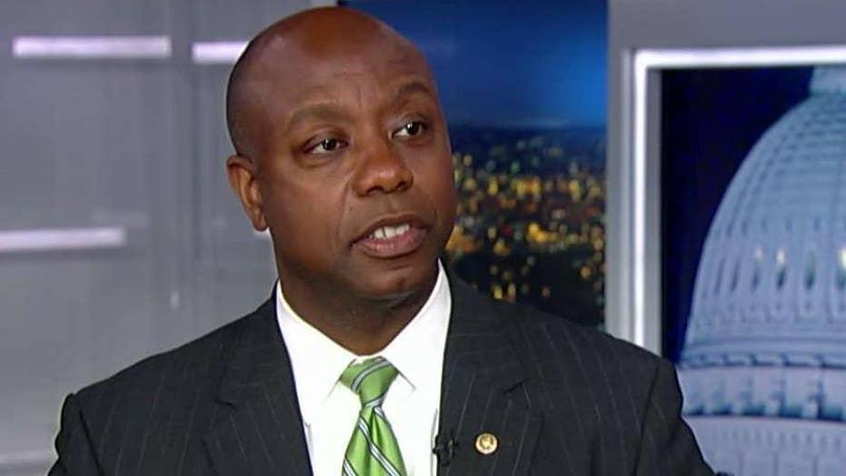 Sen. Scott responds to critics over Farr vote