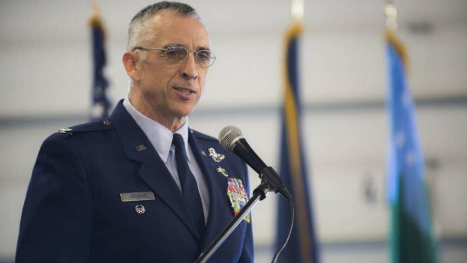 Vermont colonel forced to resign after flying F-16 to a romantic rendezvous