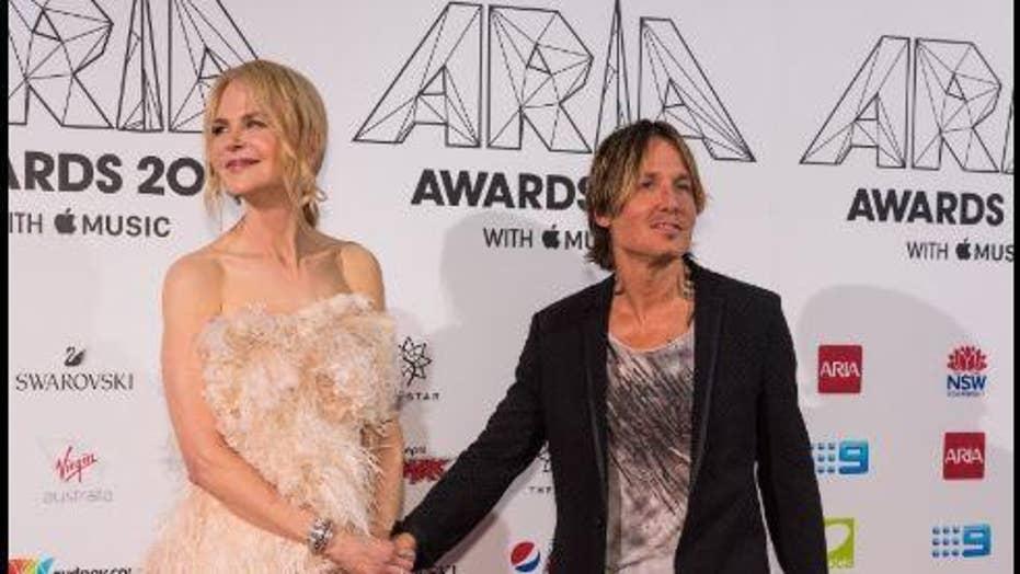 How Keith Urban made Nicole Kidman cringe at ARIA Music Awards