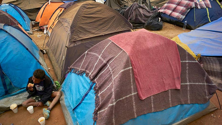Migrants in caravan plagued with serious health issues