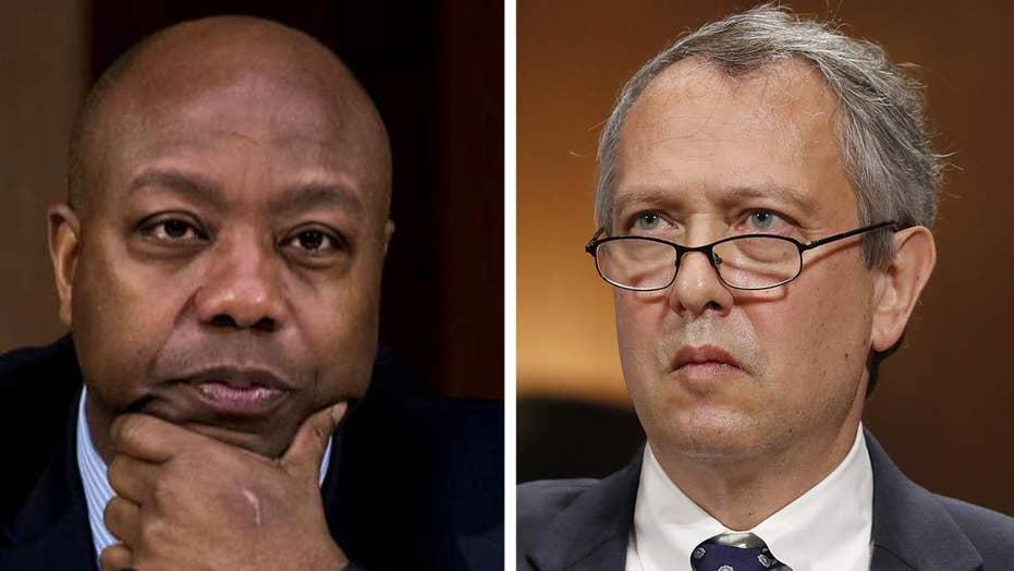 Sen. Tim Scott will not support Thomas Farr nomination