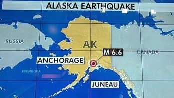 Tsunami warning after 6.6 earthquake near Anchorage, Alaska