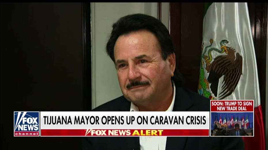 'It's a Federal Crime': Tijuana Mayor Says Caravan Organizers Should Be Arrested