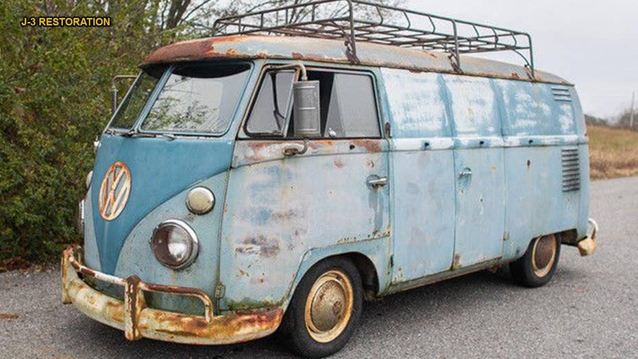 american pickers star mike wolfe is auctioning his 1962 vw van