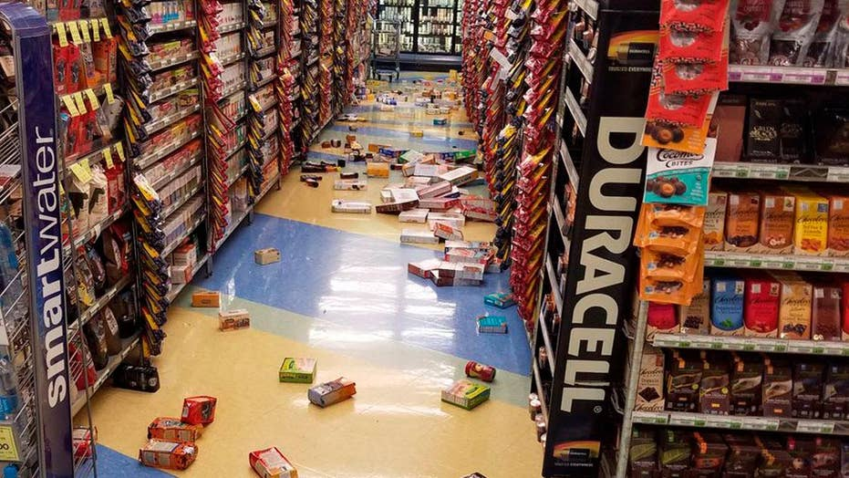 Anchorage resident describes intense shaking from 7.0 quake