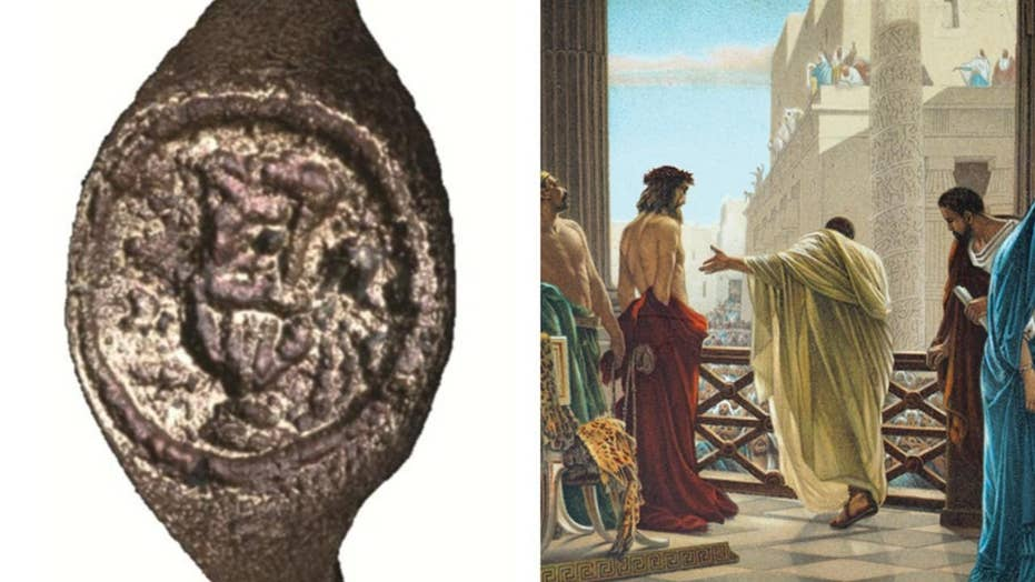 2,000-year-old ring discovered with the name of Pontius Pilate