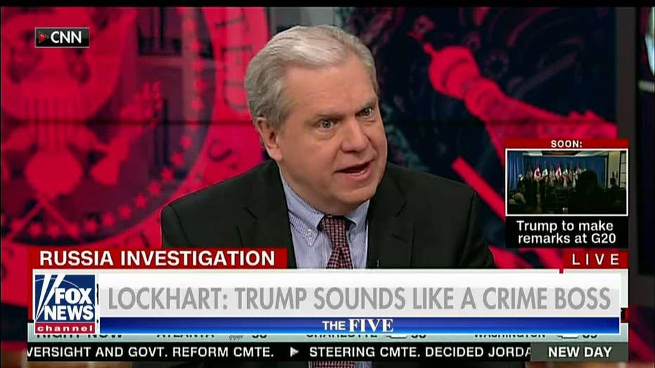 Joe Lockhart Says Donald Trump Sounds Like a Crime Boss