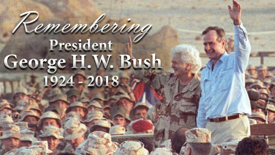 Remembering former President George H.W. Bush