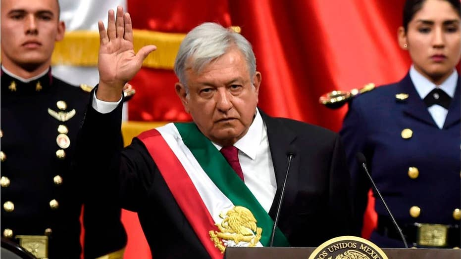 Mexico gets first leftist leader in 70 years