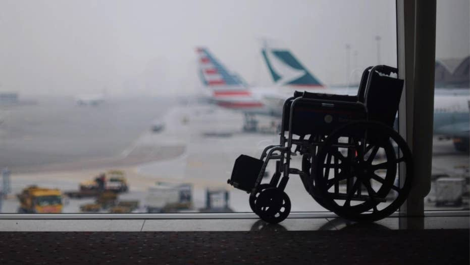 American Airlines passenger allegedly left in wheelchair overnight at airport