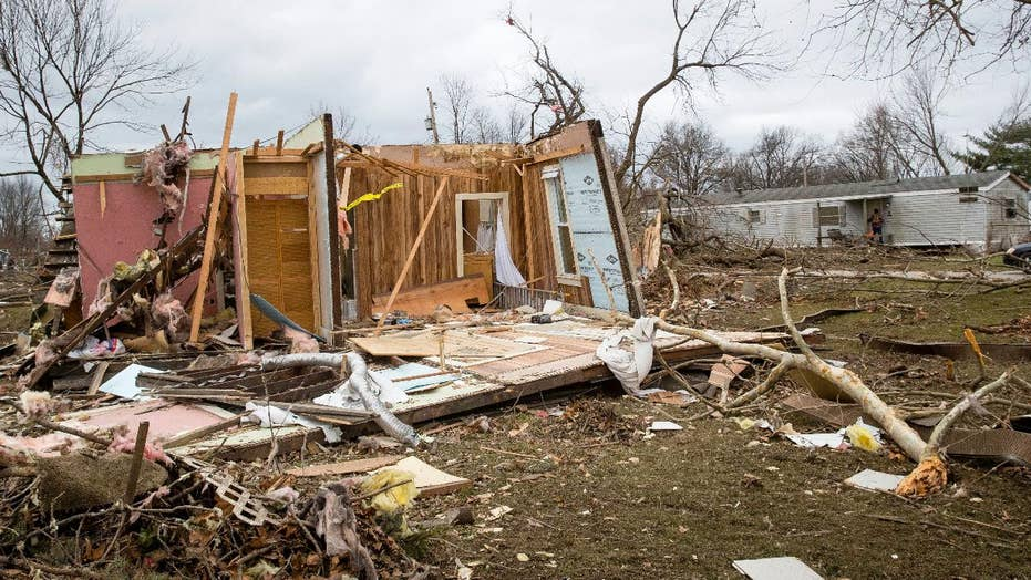 Uncommon December tornado touches down in Illinois