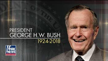 George H.W. Bush remembered at National Cathedral funeral – live blog