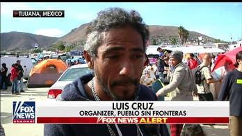 Caravan organizer says most migrants not bad people, tells Trump: 'Let these people in!'