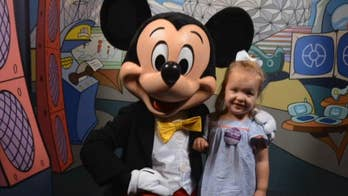 Toddler in remission gets Make-A-Wish Disney dream trip