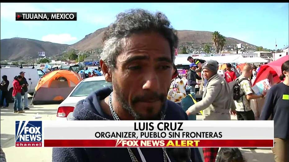 Caravan Organizer's Message for Trump: 'Let These People In, Let Them Try'