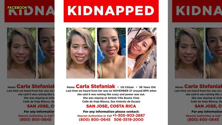 Florida woman vanishes while celebrating her birthday in Costa Rica