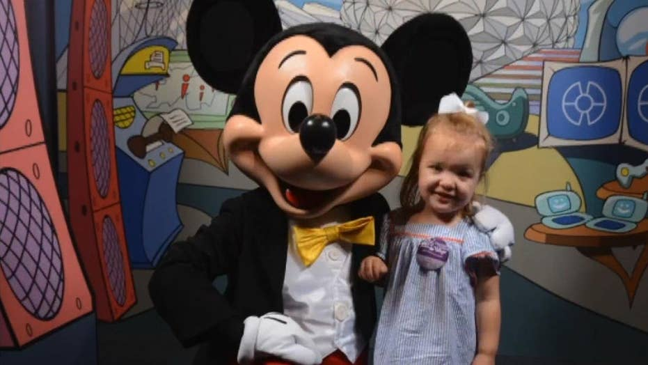 Girl's dream Disney outing comes loyal interjection to Make-A-Wish