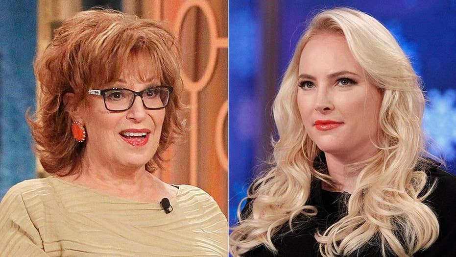 joy behar under fire for snapping at meghan mccain when asked not to