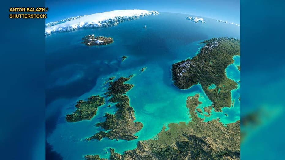 Sunken North Sea plateau region reveals its secrets