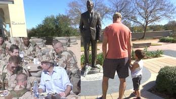 President Bush military legacy lives on