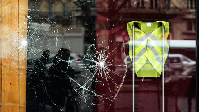France holds crisis talks after 'yellow vest' riot in Paris