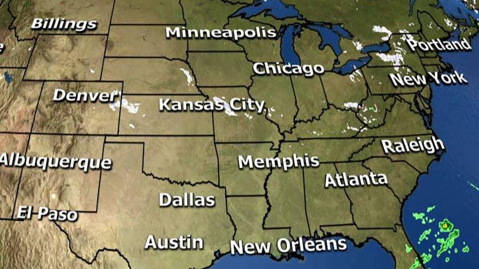 National forecast for Tuesday, December 4