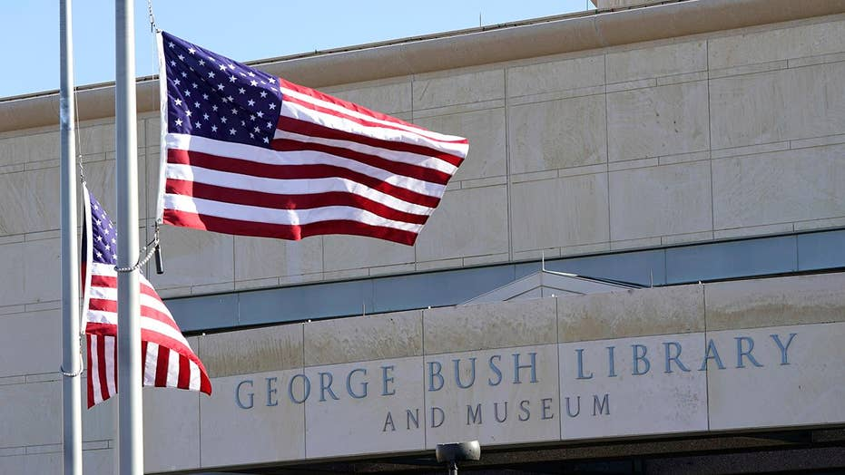 George H.W. Bush's journey to end in College Station, Texas